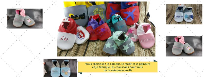 #Concours : Les chaussons tout mignons de chez Bidiartiste