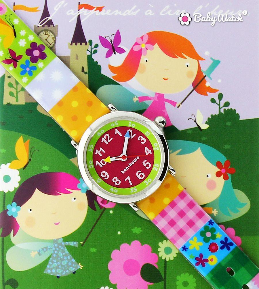 On apprend l'heure et se repérer dans le temps avec montres enfants – babywatch