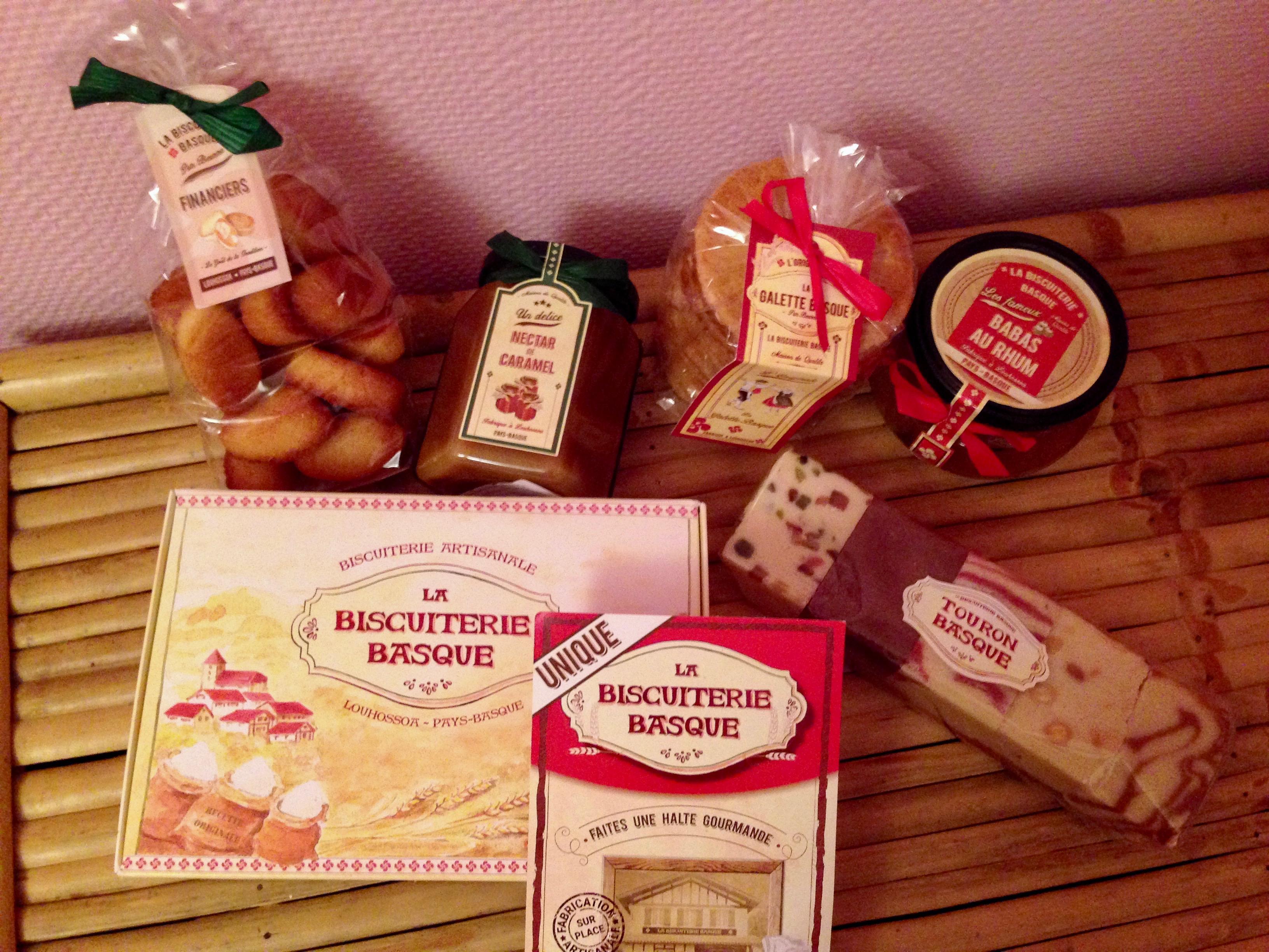Les spécialités gourmandes basques avec La biscuiterie Basque