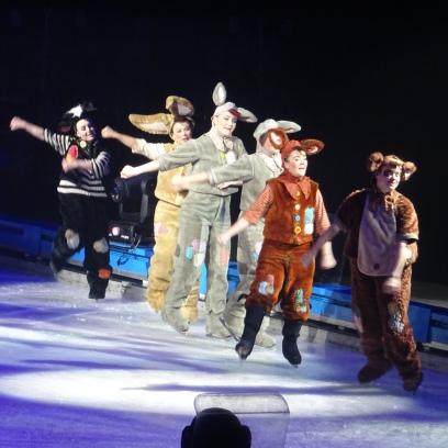 Quand la magie op re sur la glace avec disney sur glace - Les saints de glace c est quand ...