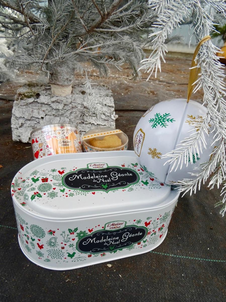 Mes gourmandises de Noël préférées avec la biscuiterie St Michel